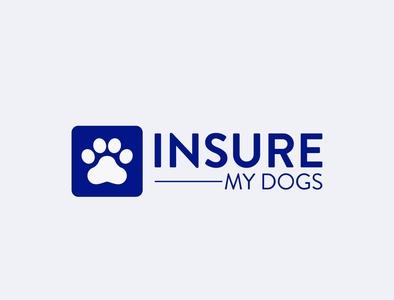 Dog logo design branding typography illustrator logo design concept flat beatuful design brand identity brand design logo design graphic design