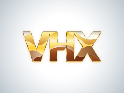 VHX Gold vhx gold logo illustration