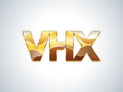 VHX Gold vhx gold logo illustration