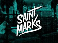 Saint Marks Lettering