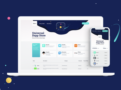 Universal Dapp Store, from Blockstack eos steem ipfs ethereum applications cryptocurrencies crypto decentralized store blockstack universe dapp