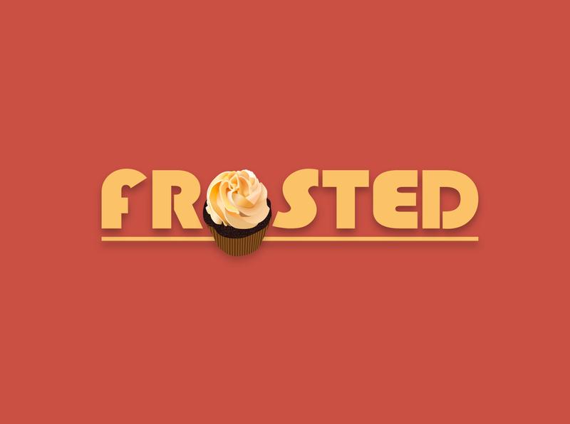 Day 18/50. Cupcake frosted cupcake vector shapes logo illustration design dailylogo dailylogochallenge