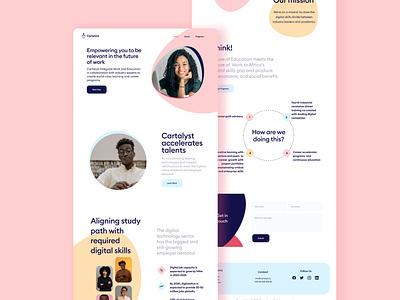 Cartalyst Landing page branding ui
