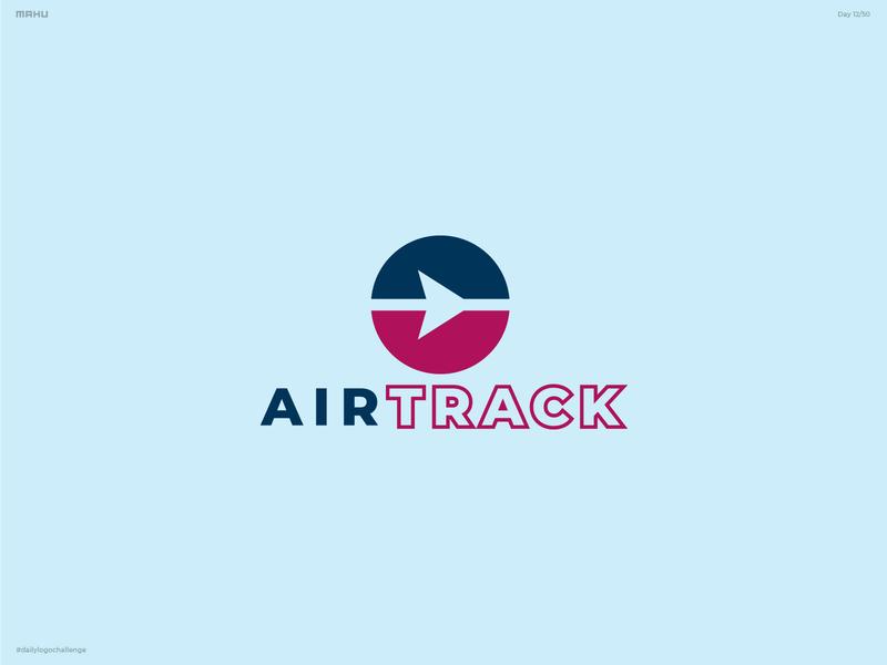 Airline Logo - Airtrack branding design logo dailylogochallenge