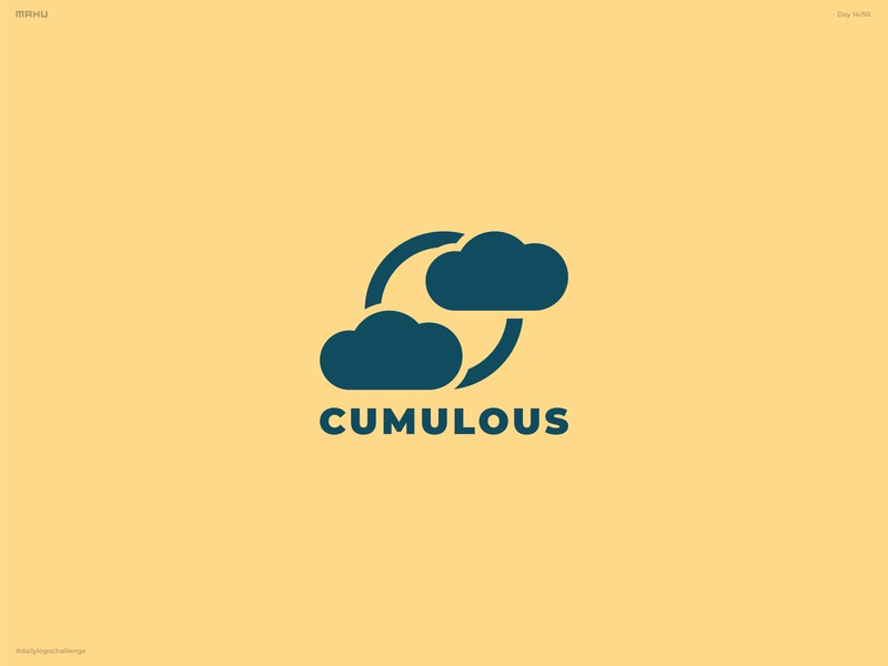 Cloud Computing Logo - Cumulous branding design logo dailylogochallenge