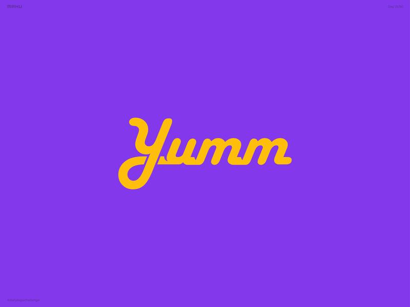 Granola Company Logo - Yumm branding design logo dailylogochallenge