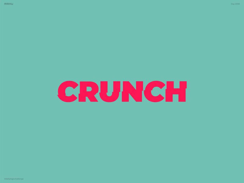 Granola Company Logo - Crunch branding design logo dailylogochallenge