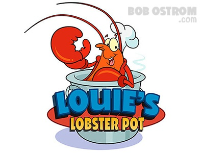 Cartoon Logo Lobster Ostrom cartoon logo lobster ostrom