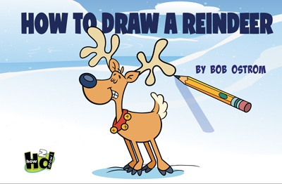 How 2 Draw Reindeer eBook ebook how to draw cartoon bob ostrom studio