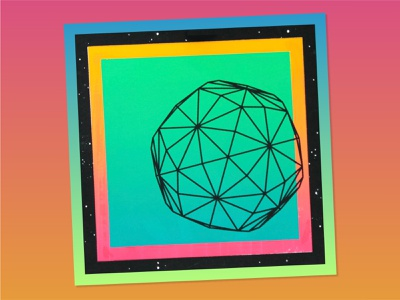 Reverse Mitosis: A Print Series illustration printmaking geometry