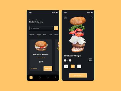 A mobile food app restaurant figmaboy figmadesign food delivery app ux design ui design uiux mobileui food app mobile figmaafrica figma design dailyui app 100daysofui 100daychallenge ux ui