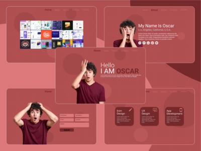 Portfolio Template webdesign portfolio template design web