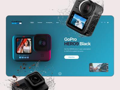 Promo GoPro design web