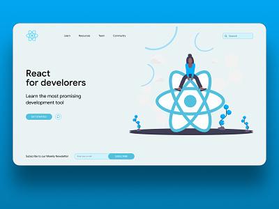 React learning ux ui web design