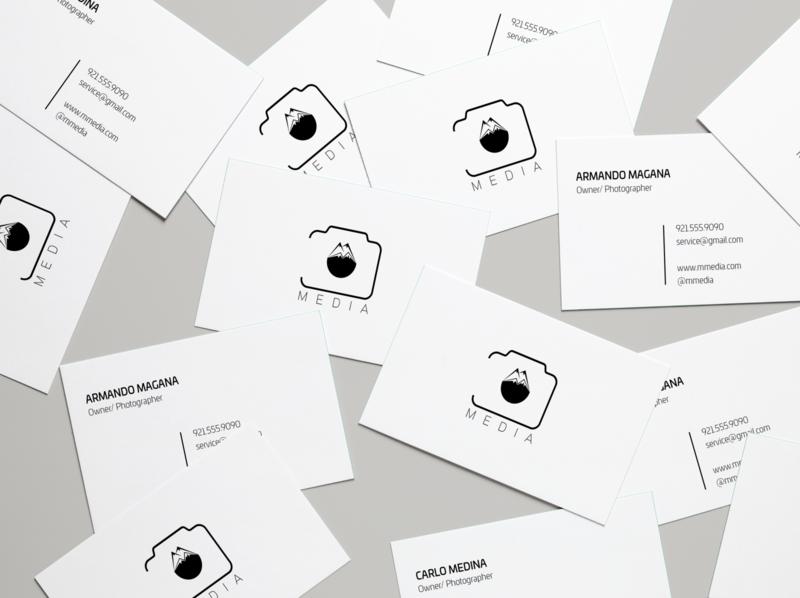 Photography Studio Branding minimal vector logo illustration design branding