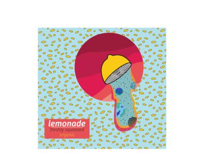 Lemonade branding concept logo branding design illustration
