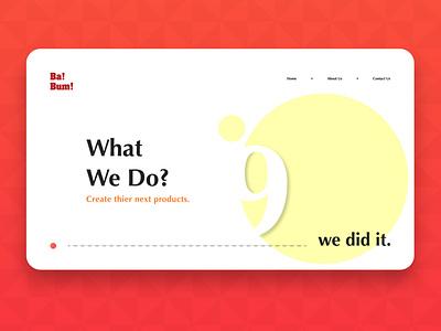 Website Sample adobe illustrator web icon app typography ux branding design ui logo