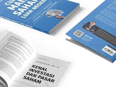 Cuan Main Saham Luar Negeri cover design book cover book