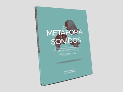 Libro: La Metáfora de los Sonidos museo libro portada cubierta rica costa museum bank central mockup cover book