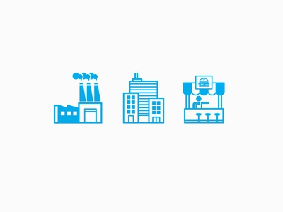3 Biz icons vector icono diseño design costa rica education financial icons icon