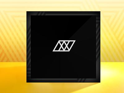 Comp #1 icon black geometry light photo design