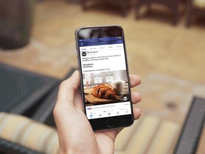 Facebook Post for Buka Bakery digital. social media facebook