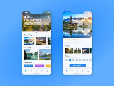 Travel app creative design user experience design user experience uidesign user interface application app design uiux travel app ideas travel apps 2020 travel app logo travel app ui design