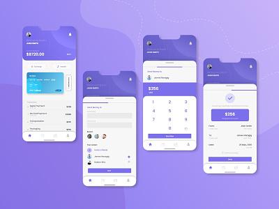 Banking  APP mobile ui mobile app mobile app design user experience userinterface application ui design app apple modern design banking creative design app design
