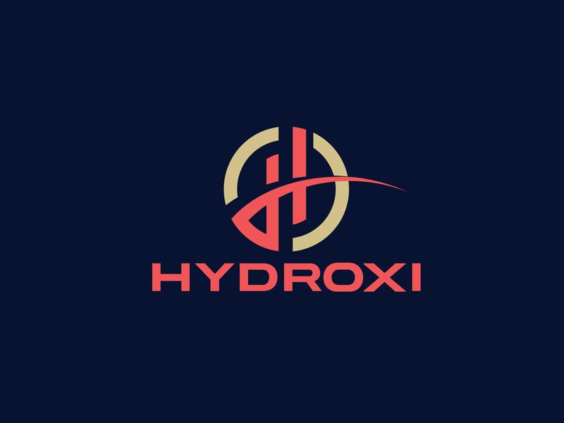 HYDROXI LOGO DESIGN illustrator graphicdesign minimalist logo modern logo design graphic design design branding logo design modern logo logo