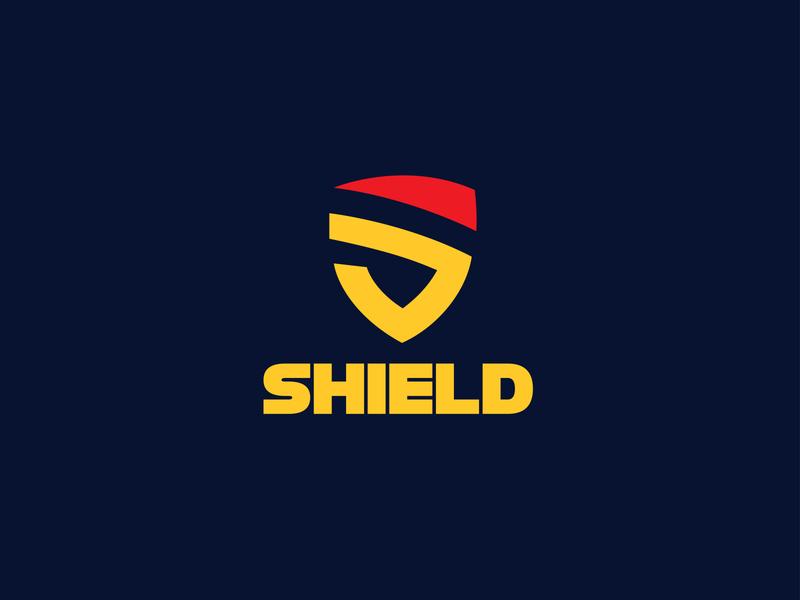 SHIELD LOGO DESIGN modern logo design minimalist logo graphicdesign illustrator graphic design design branding logo design modern logo logo