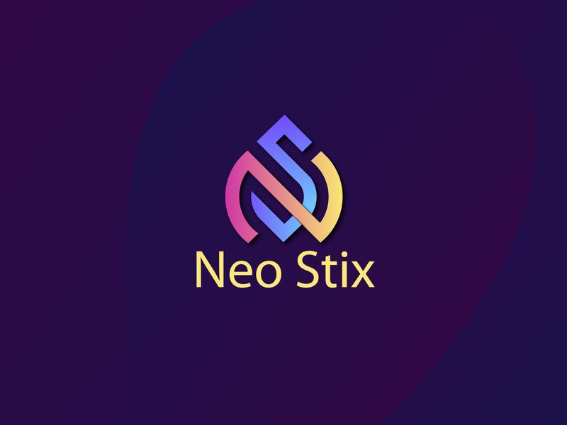 Neo Stix Logo Design minimalist logo modern logo design graphicdesign illustrator graphic design design branding logo design modern logo logo