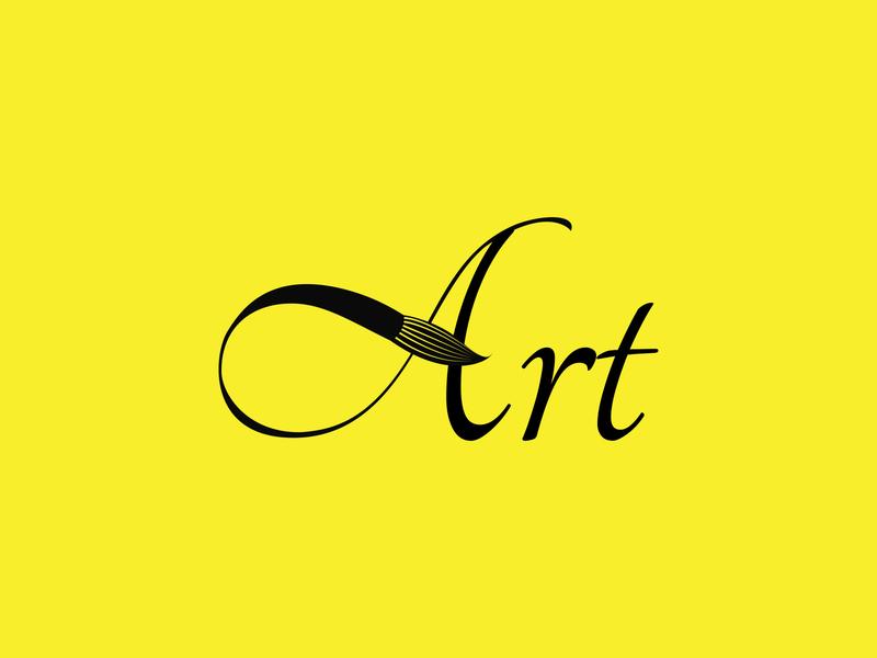 Art Logo Design minimalist logo modern logo design graphicdesign illustrator graphic design design branding logo design modern logo logo