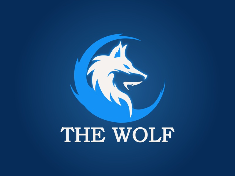 THE WOLF LOGO DESIGN branding design graphicdesign illustrator minimalist logo modern logo design graphic design design logo design modern logo logo