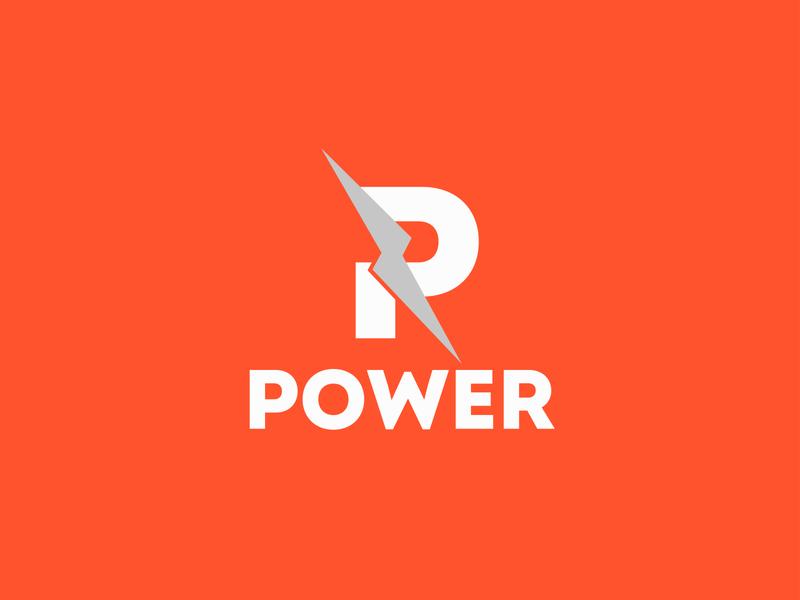 Power Logo Design branding design business logo minimalist logo modern logo design graphicdesign branding graphic design design logo design modern logo logo
