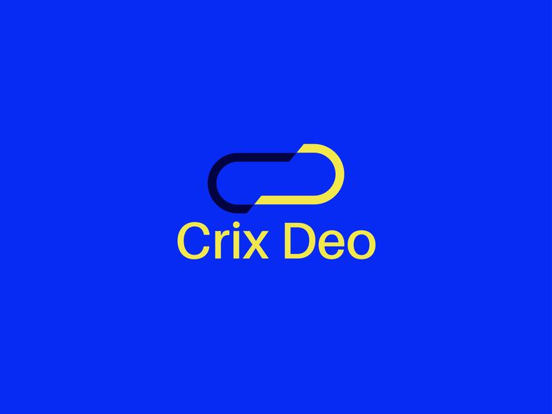 Crix Deo Logo Design branding business logo design minimalist logo modern logo design illustrator graphicdesign graphic design design logo design modern logo logo