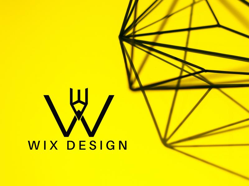 WIX  LOGO DESIGN illustrator branding minimalist logo graphicdesign modern logo design graphic design design logo design modern logo logo
