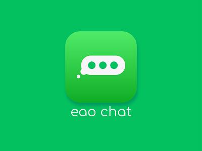 Eao Chat branding business logo design branding design graphicdesign minimalist logo modern logo design graphic design logo design modern logo logo