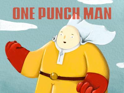 one punch man one punch man fanart coverart design illustrator digitalillustration digital illustration illustration digital painting digitalart art