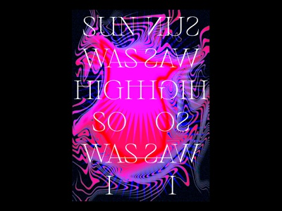 High high texture print illustration blankposter design typographic gradients typography poster