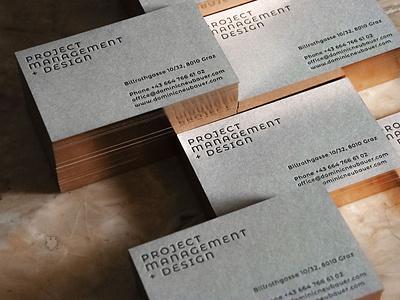 Branding Dominic Neubauer minimal visual identity melanie wendler logo corporate design business card branding