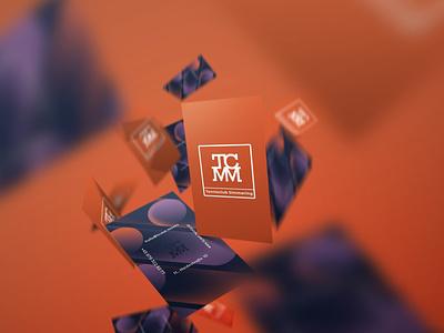 Tennis Club Simmering gradient digital illustration visual identity melanie wendler logo corporate design business card branding