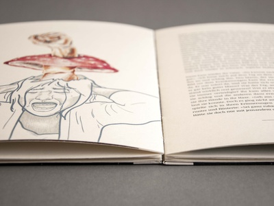 Book series design melanie wendler mixed media typography illustraion editorial design