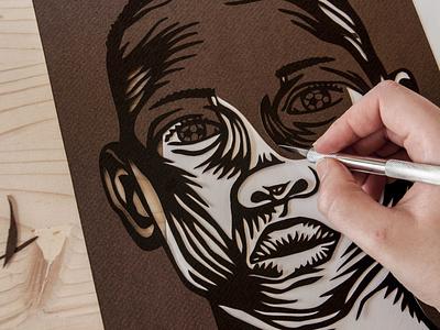 Papercut melanie wendler paper art art and craft papercut