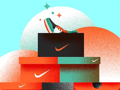 Nike x 2 nike shoes sneaker art sneaker illustration sneakerhead sneakers nike photoshop art vector illustrator digitalart design illustration