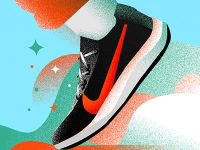 Nike X 3 sneakerhead sneaker art sneaker illustration sneakers sneaker nike shoes nike website ui photoshop vector illustrator digitalart design illustration