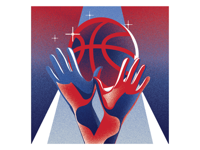 NBA App x 3 photoshop art freelanceillustrator nba basketball vector ui digitalart illustrator design illustration
