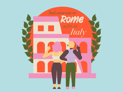 Find someone to Rome with