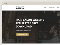 Hair Salon Website Templates Free Download