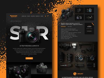 WebDesign Photography website webdesign web ux ui phostoshop maquette illustration design art design