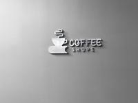 cofee shop 1 logo icon design illustration